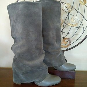 See By Chloe' Suede Fold Down Boots